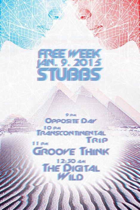 Free Week 2015 Stubbs